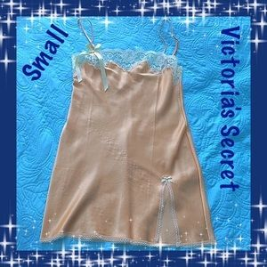 Gold Sexy Nightgown by Victoria's Secret Small
